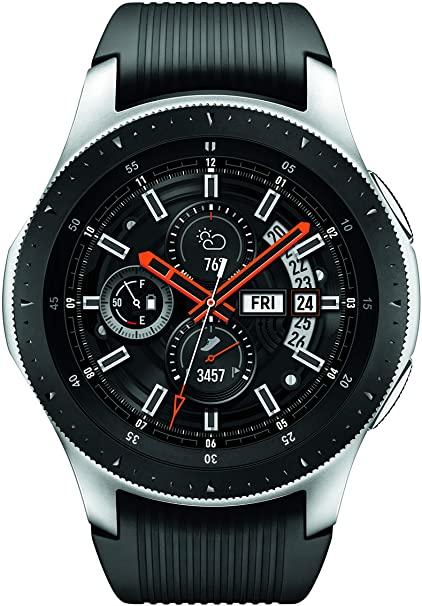 Amazon.com: Samsung Galaxy Watch (46mm, GPS, Bluetooth) – Silver