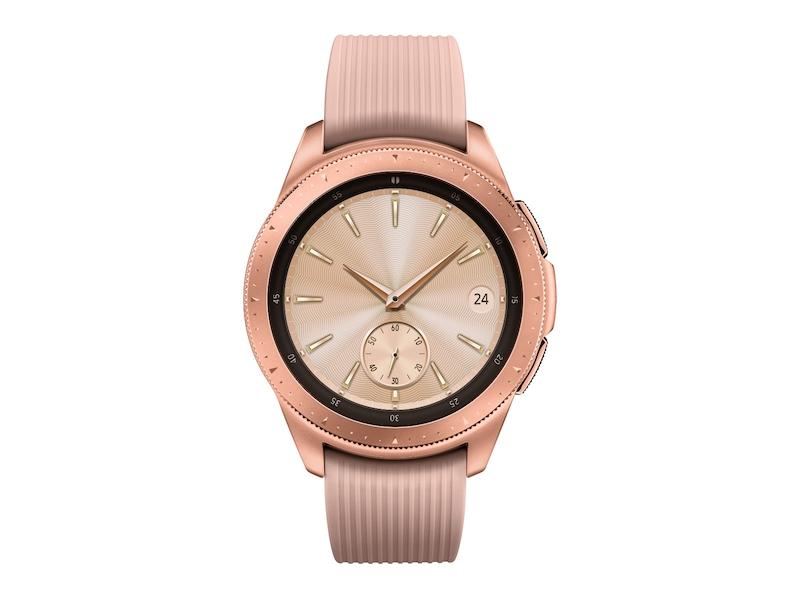 Rose Gold Samsung Galaxy Watch - 42mm Bluetooth | Samsung US